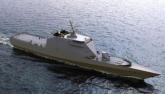 stealth warship