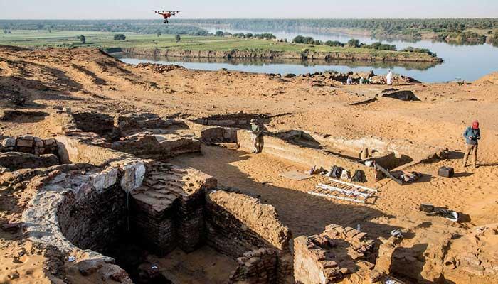 sudan archaeologists