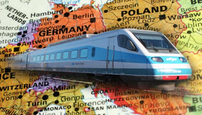 interrail train europe